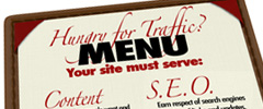 Hungry for website traffic? You site should include...